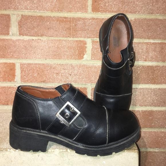 e6f56fdcf9e5 Harley-Davidson Shoes - Harley Davidson Woman s Size 10 Sarah Black clogs